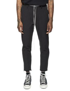 Raw Edge Pinstripe Pants by Other Uk