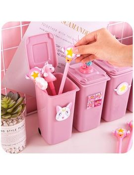 Momoi   Litter Bin Style Pen Holder by Momoi