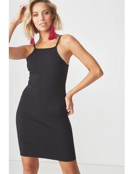 High Neck Strappy Mini Dress by Supre