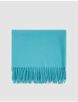 Canada New Scarf In Turquoise Blue by Acne Studios