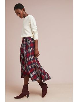 Callen Plaid Skirt by Velvet By Graham & Spencer