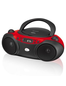 Blackweb Boombox With Bluetooth, Cd And Fm Radio by Blackweb