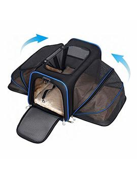 Youthink Travel Airline Approved Cage Crate Soft Carriers For Cat Puppy Dog Pets by Youthink