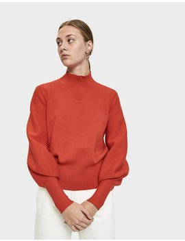 Alma Bishop Sleeve Sweater by Just Female