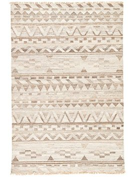 Jaipur Living Fillmore Reversible Flatweave Tribal White Area Rug (8' X 10') by Jaipur Living
