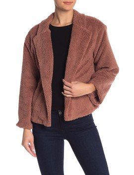 Faux Shearling Jacket by 14th & Union