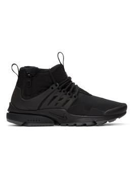 Black Air Presto Utility Sneakers by Nike