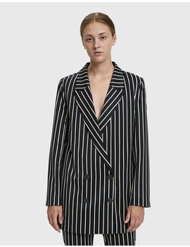 Laurent Striped Blazer by Just Female