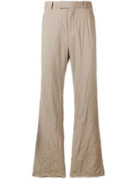 Crinkled Trousers by Marni