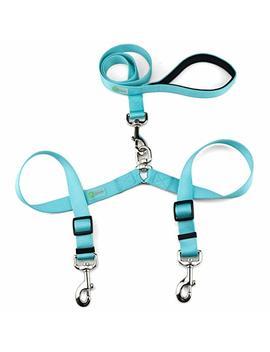 D Cbark Double Dog Leash, Premium Quality No Tangle Leash For 2 Dogs by D Cbark