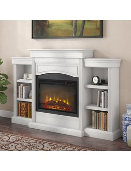 Charlton Home Allsop Mantel Wall Mounted Electric Fireplace & Reviews by Charlton Home
