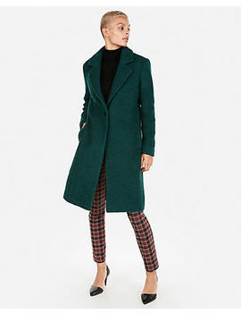 Boucle Cocoon Coat by Express
