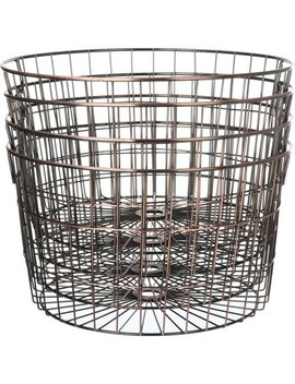 Mainstays Medium Round Wire Copper Basket   4 Pack by Mainstays