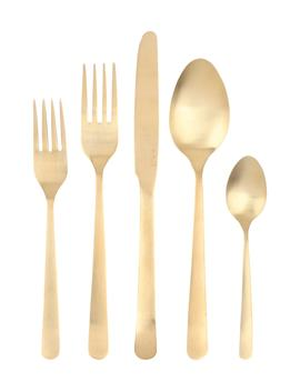 Oslo 5 Piece Flatware Place Setting by Canvas Home