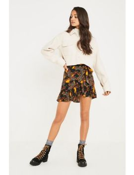 Uo Baroque Ruffle Wrap Skirt by Urban Outfitters