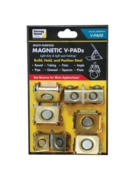Strong Hand Tools Mvdf44 Adjustable Magnetic V Pads, 4 Piece by Strong Hand Tools