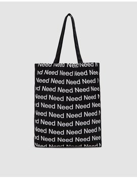Need Supply Tote Bag by Need