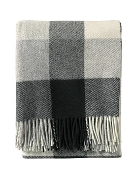 Plaid Washable Wool Throw by Pendleton