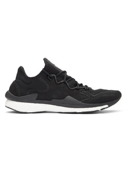 Black Boost Adizero Runner Sneakers by Y 3