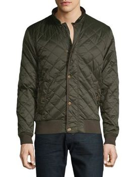 Edderton Quilted Bomber Jacket by Barbour