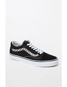 Vans Sidestripe V Old Skool Black Shoes by Pacsun
