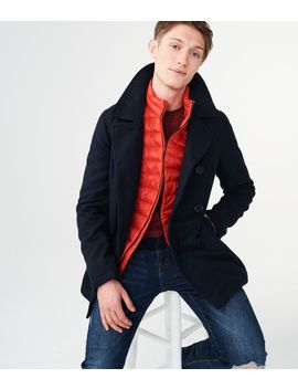 Solid Classic Peacoat by Aeropostale