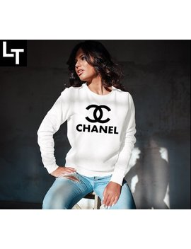 Chanel Shirt   Chanel Sweatshirt, Chanel Inspired Unisex Pullover Shirt by Etsy
