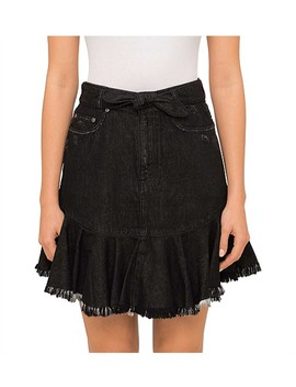 Divinity Jean Skirt by Zimmermann Swimwear