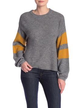 Varsity Stripe Sweater by John & Jenn