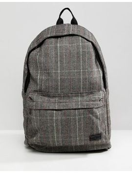 New Look Backpack In Brown Check by New Look