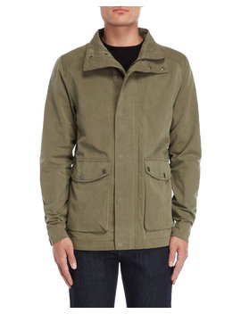 Olive Green Field Jacket by Parka London