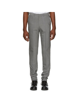 Grey Classic Trousers by N.Hoolywood