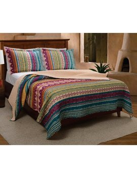 Greenland Home Fashions Southwest Quilt Set by Greenland Home Fashions