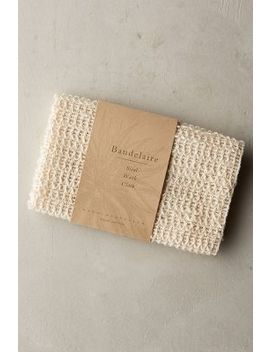 Baudelaire Sisal Wash Cloth by Baudelaire