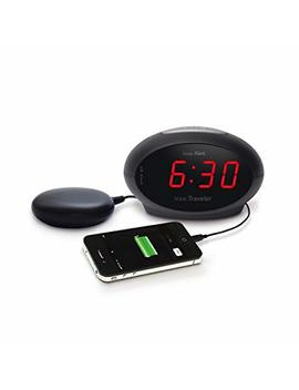 Geemarc Sbt600 Vibrating Alarm Clock With Extra Loud Alarm 75 D B + Vibration (English Version). Usb Port For Charging Your Smartphone Or Other Electronic Devices by Amazon