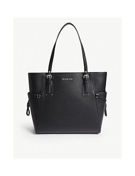 Leather Tote Bag by Michael Michael Kors