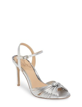 Lady Ankle Strap Sandal (Women) by Jewel Badgley Mischka