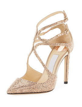 Lancer Crystal Loop Pumps by Jimmy Choo