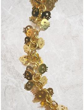 Murakami Inspired Skull Choker, Jewelry, Kawaii, Festival Jewelry, Festival Choker, Boho, Japanese, Harajuku, Tokyo Necklace by Etsy