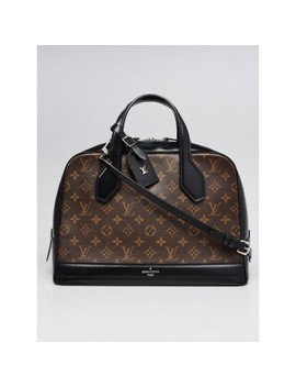 Limited Edition Black Monogram Canvas Dora Mm Bag by Louis Vuitton