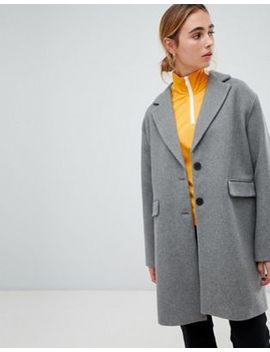 Pull&Bear Car Coat by Pull&Bear