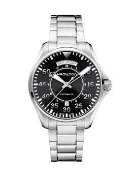 Stainless Steel Automatic Watch by Hamilton