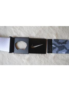Nike Brand Black Camo Camouflage Patterned Belt, Nike Buckle, Vintage Streetwear by Etsy