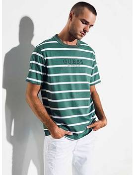 Guess Originals '81 Oversized Doheny Striped Tee by Guess