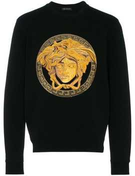 Medusa Head Sweatshirt by Versace