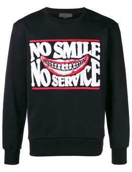 No Smile No Service Sweatshirt by Stella Mc Cartney