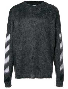 Textured Logo Sweater by Off White