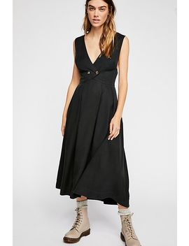 Made You Look Midi Dress by Free People