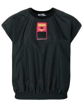 Elasticated Logo T Shirt by Gcds