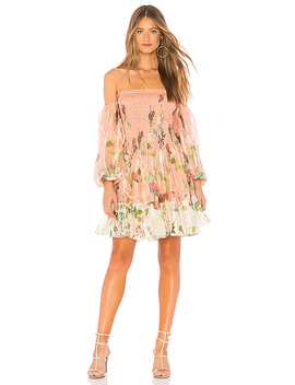 Off Shoulder Short Dress by Rococo Sand